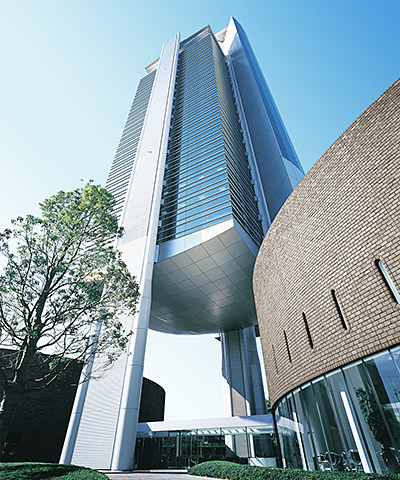 Keyence headquarters in Osaka, Japan